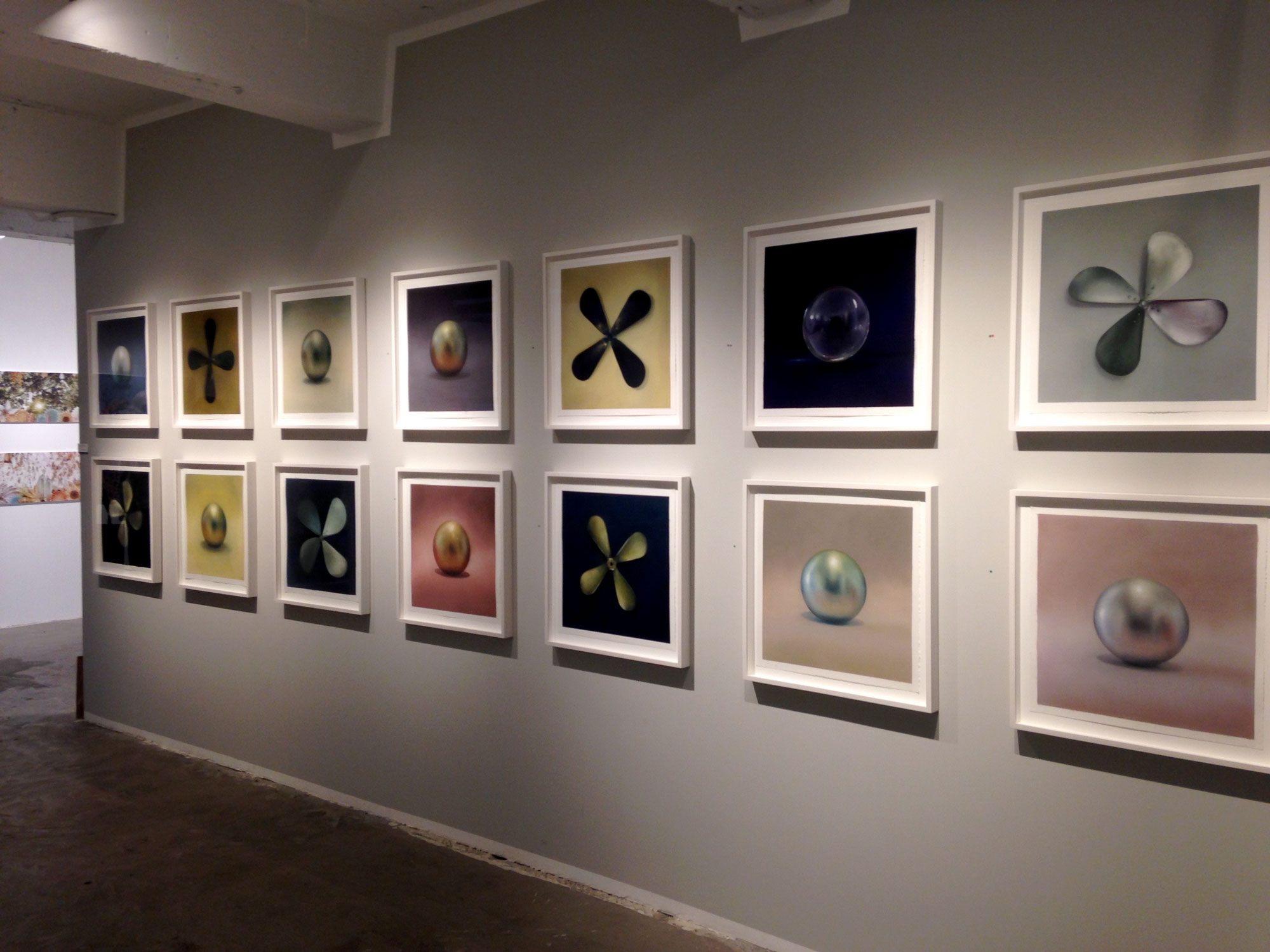 Exo exhibit at Patricia Sweetow Gallery